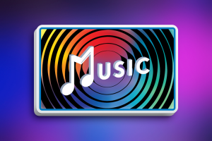 music-with-light-blue-border